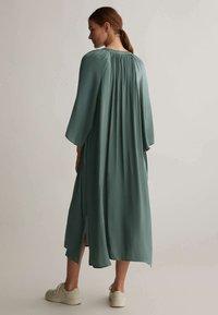 OYSHO - KAFTAN - Day dress - khaki - 1