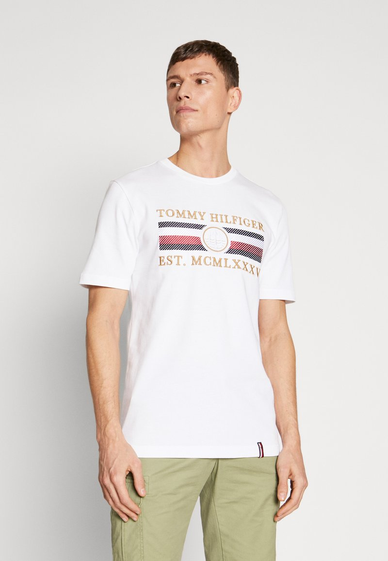 Tommy Hilfiger - ICON  - T-shirt con stampa - white