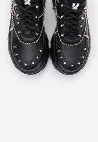 Koi Footwear - VEGAN JINX - Sneakers laag - black - 5
