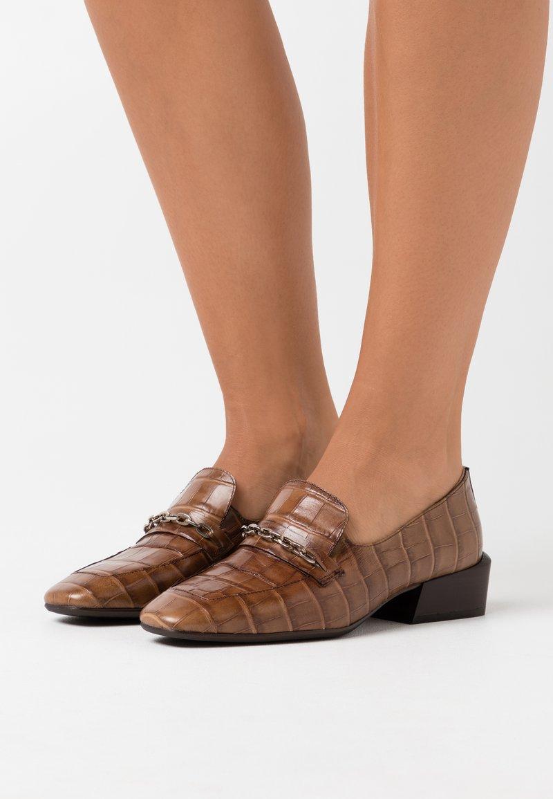 WONDERS - Scarpe senza lacci - taupe