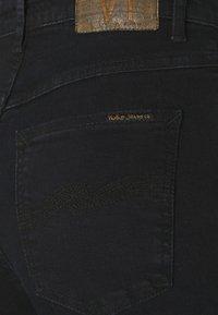 Nudie Jeans - HIGHTOP TILDE - Jeans Skinny Fit - sentimental black - 5