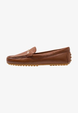 BRIONY - Slippers - deep saddle tan