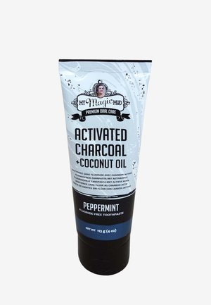 CHARCOAL TOOTHPASTE PEPPERMINT 113G - Dental care - -