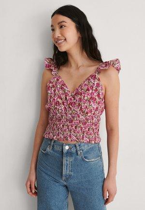Débardeur - pink flower