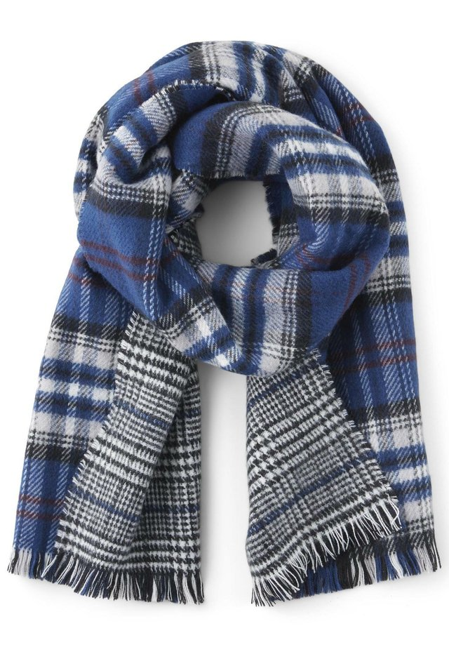 TOM TAILOR ACCESSOIRE KARIERTER WENDESCHAL - Scarf - glencheck double face check