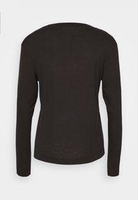 Casall - EASE CREW NECK - Pitkähihainen paita - black - 6