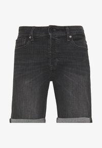 Jack & Jones - JJIRICK JJORIGINAL  - Denim shorts - black denim - 0