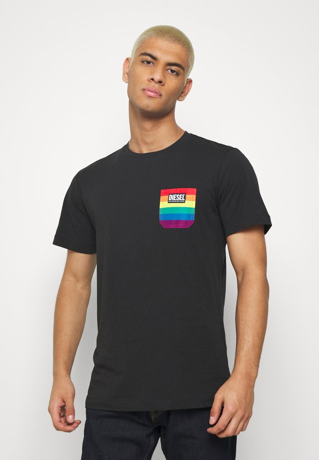 PRIDE BMOWT DIEGO - T-shirt con stampa - black