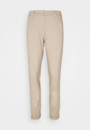 MELINA CITY - Trousers - creamy camel