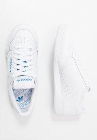 adidas Originals - CONTINENTAL 80 - Trainers - footwear white/blue bird - 1
