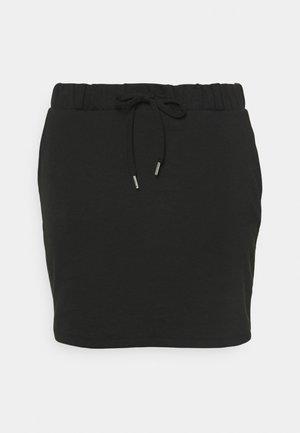 CARPEVER SKIRT - Mini skirt - black