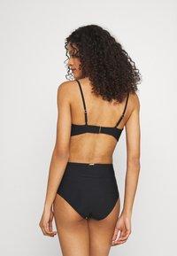 Calvin Klein Swimwear - CORE SOLID HIGH WAIST - Bikinibroekje - black - 2