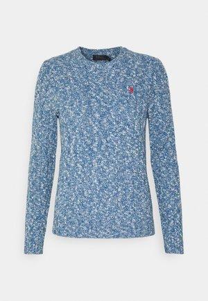 LONG SLEEVE - Pullover - slate blue ragg