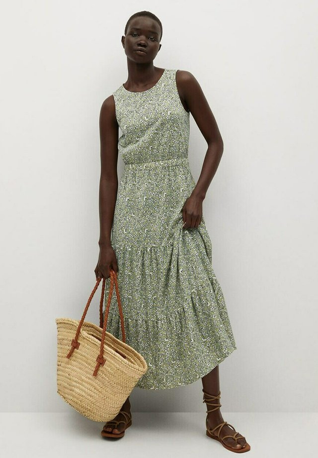 MAFALDA - Denní šaty - verde pastel