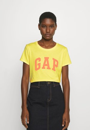 TEE - Camiseta estampada - clear yellow