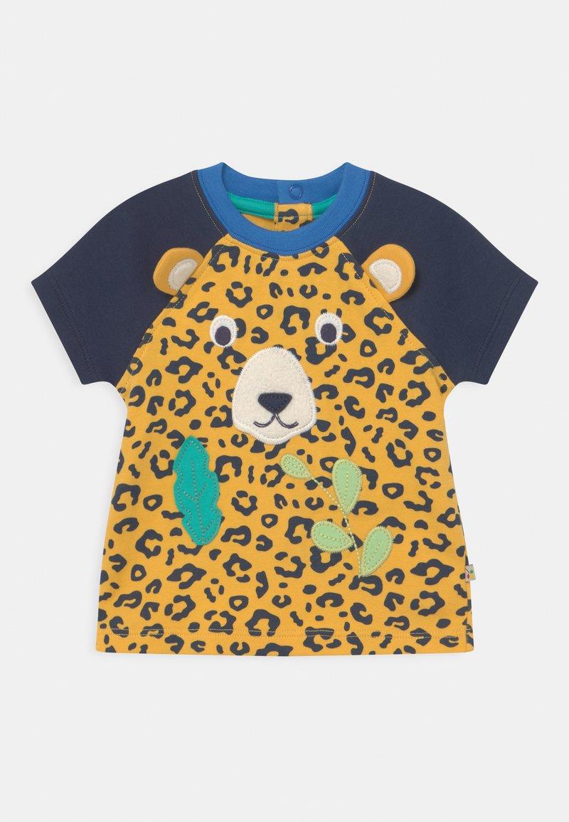 Frugi - HAPPY RAGLAN UNISEX - T-shirt print - yellow
