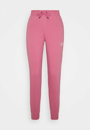 PANT TIGHT - Joggebukse - desert berry/white