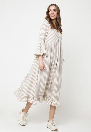 Day dress - weiß/ beige