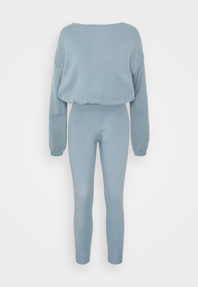 SET - Bluza - blue