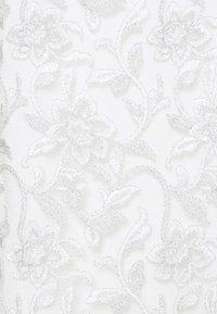 Lauren Ralph Lauren - MELLIE SLEEVELESS EVENING DRESS - Cocktail dress / Party dress - white/silver - 6