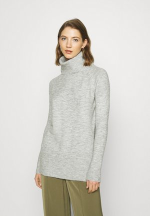 ONLCILLE ROLLNECK - Jumper - light grey melange
