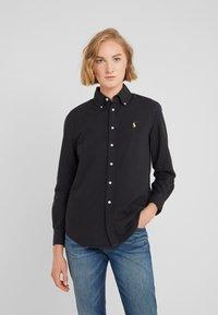 Polo Ralph Lauren - OXFORD RELAXED FIT - Skjorta - black - 0