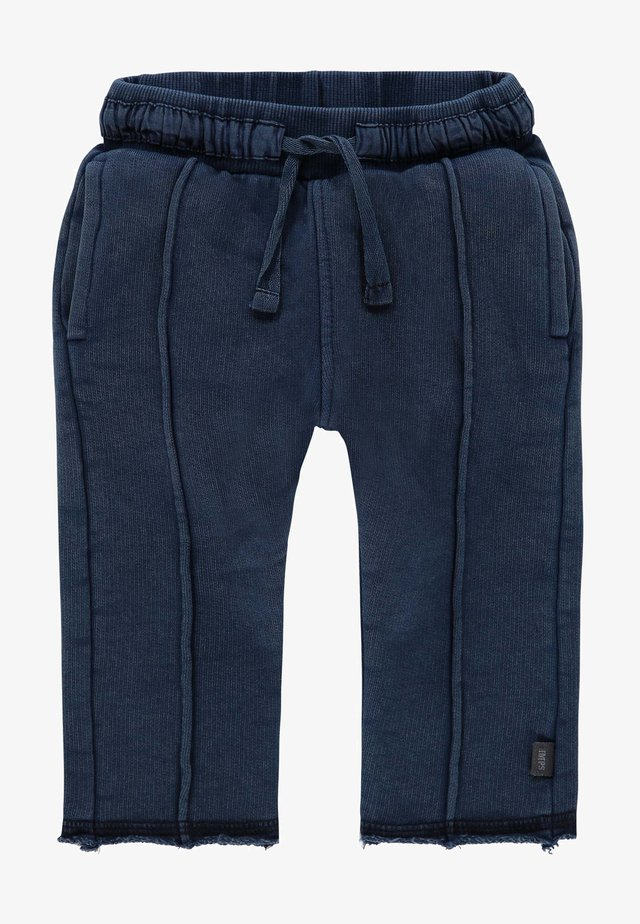 ARDERSIER - Tracksuit bottoms - indigo blue dyed