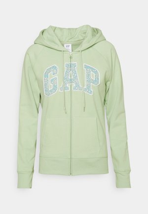 NOVELTY - Zip-up hoodie - smoke green