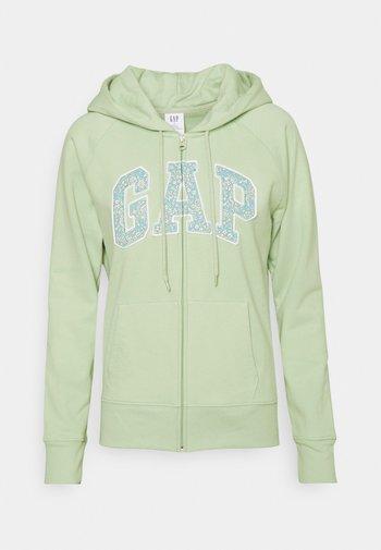 NOVELTY - Zip-up hoodie - smoke green
