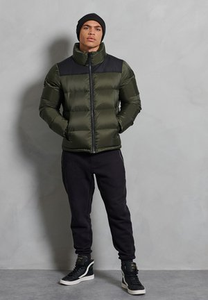 SPORTSTYLE CODE  - Down jacket - superdry olive