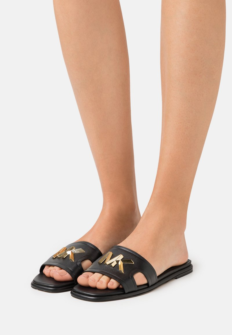 MICHAEL Michael Kors - KIPPY SLIDE - Mules - black
