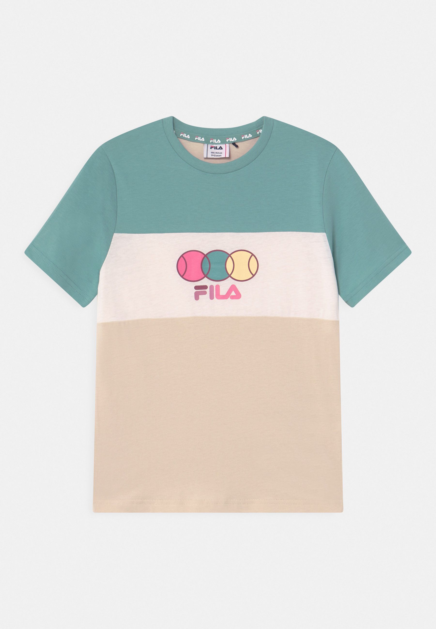 Kinder PEBBELS BLOCKED UNISEX - T-Shirt print