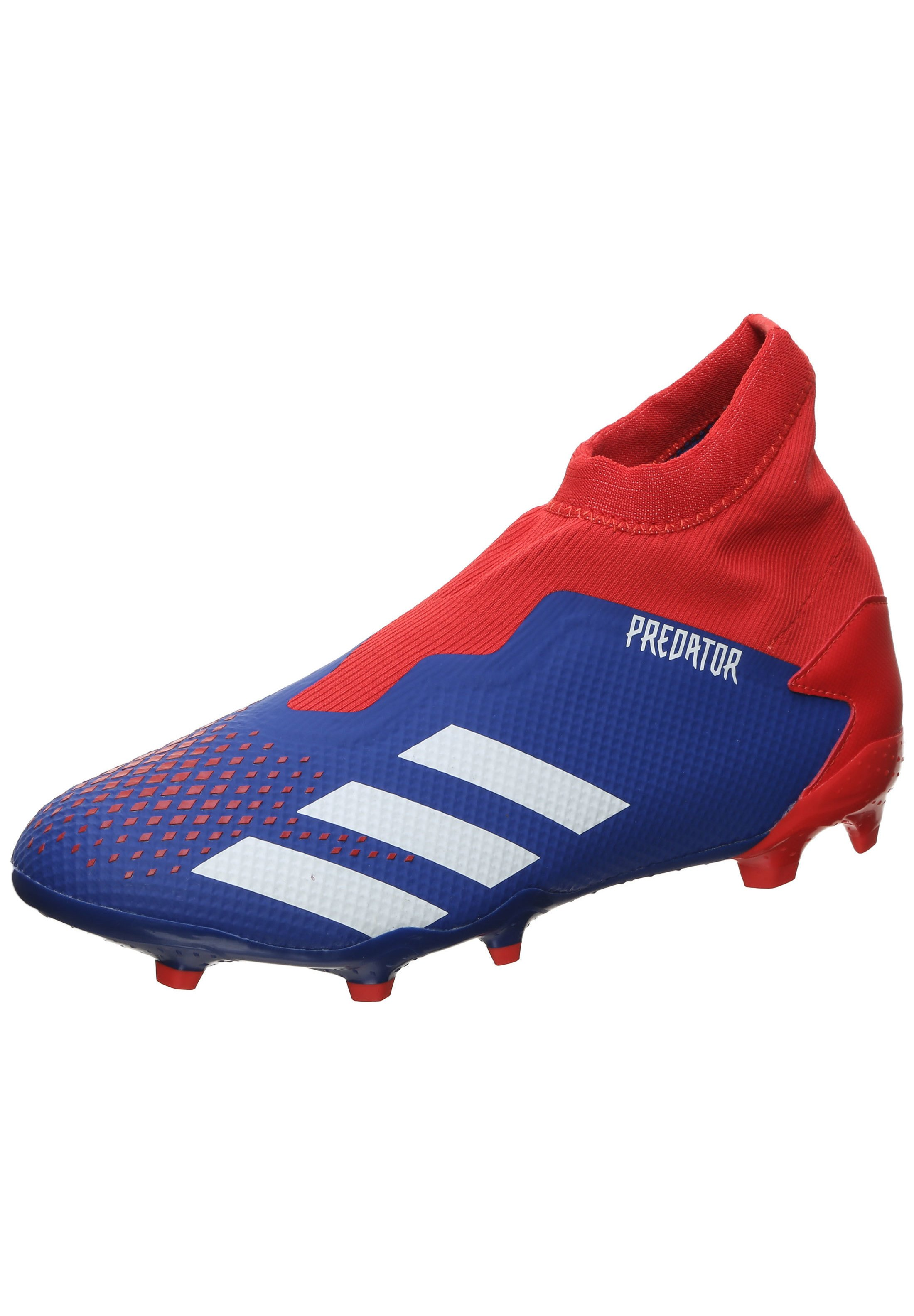 adidas Performance PREDATOR 20.3 FG FUSSBALLSCHUH HERREN - Fußballschuh Nocken - royal blue / footwear white / action red/blau - Herrenschuhe Cbxoa
