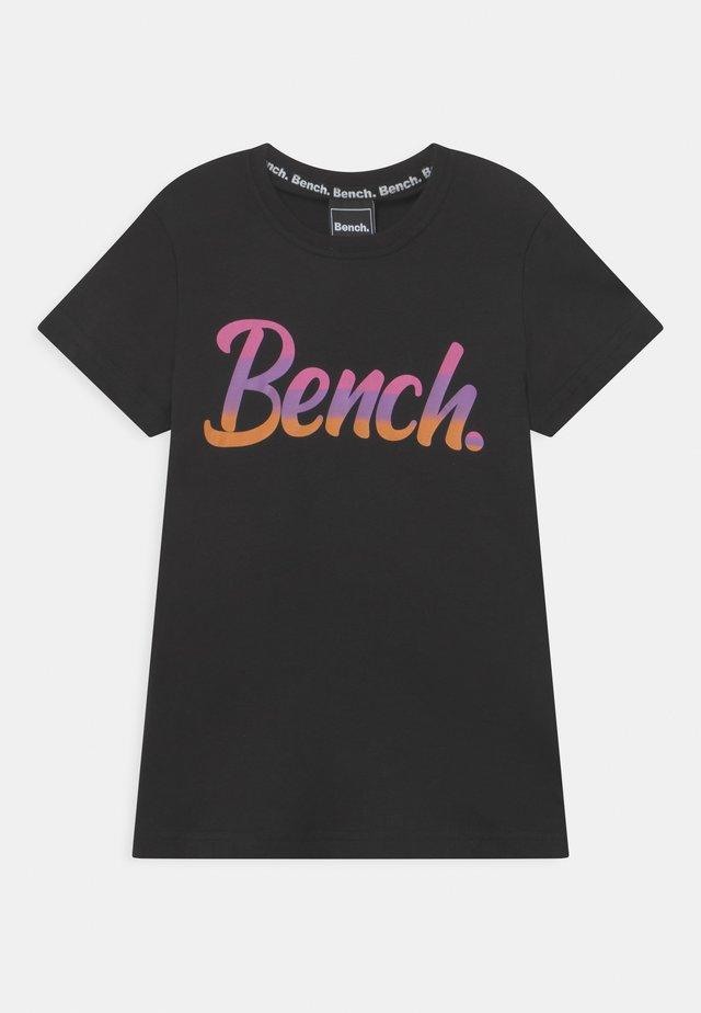 FILIPPA - T-Shirt print - black