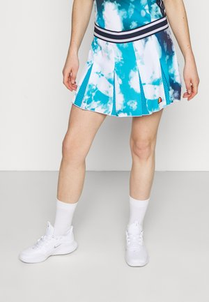 CALETTA SKORT - Sportovní sukně - blue/white