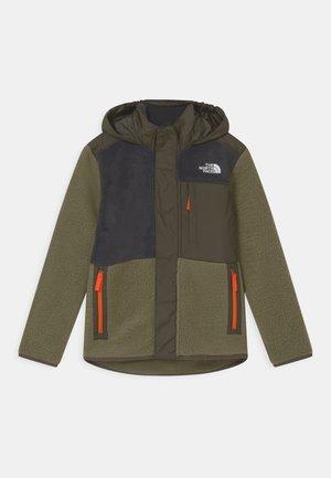 FORREST MIXED MEDIA - Fleece jacket - burnt olive green