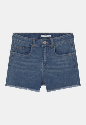 NKFRANDI - Denim shorts - medium blue denim