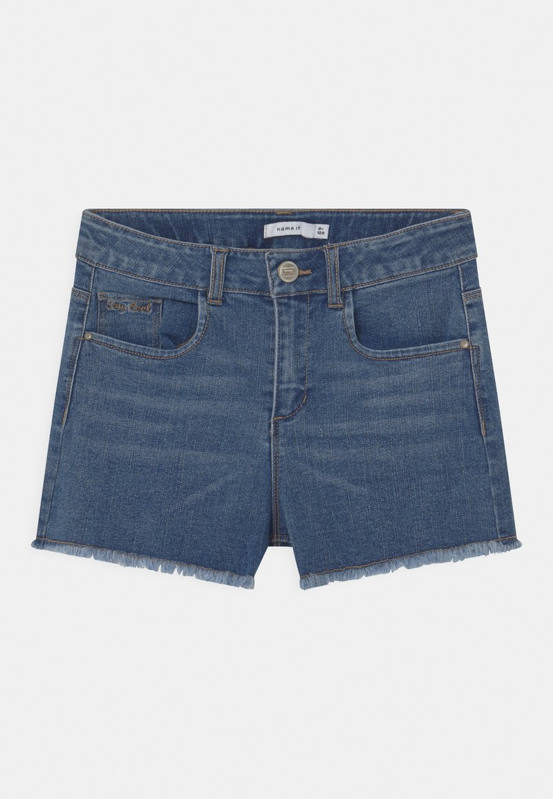 Name it - NKFRANDI - Denim shorts - medium blue denim