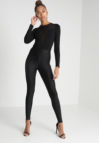Even&Odd - Long sleeved top - black - 1