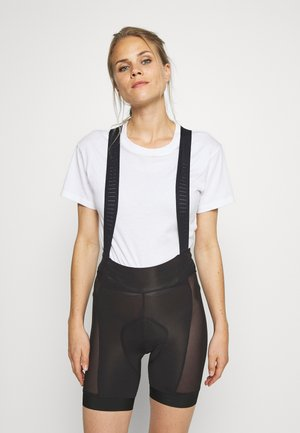 DIRT ROAMER LINER BIBS - Leggings - black