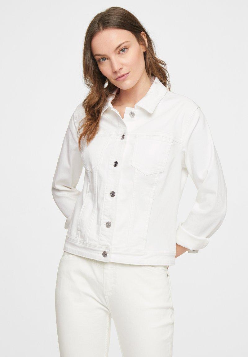 comma casual identity - Denim jacket - offwhite