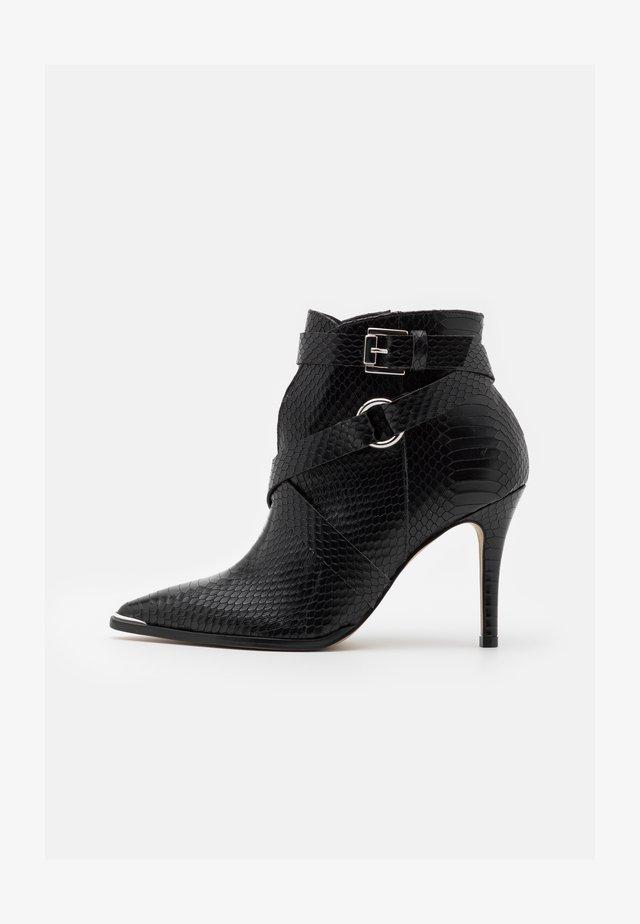 VOTELLA - High heeled ankle boots - noir