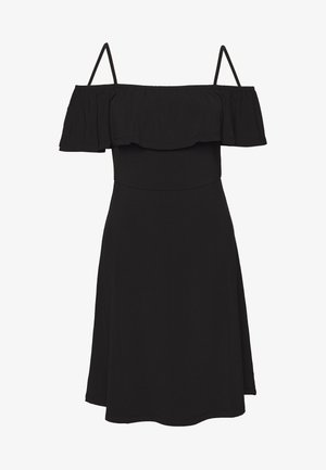 PCARIZONA OFF-SHOULDER  - Vestito estivo - black