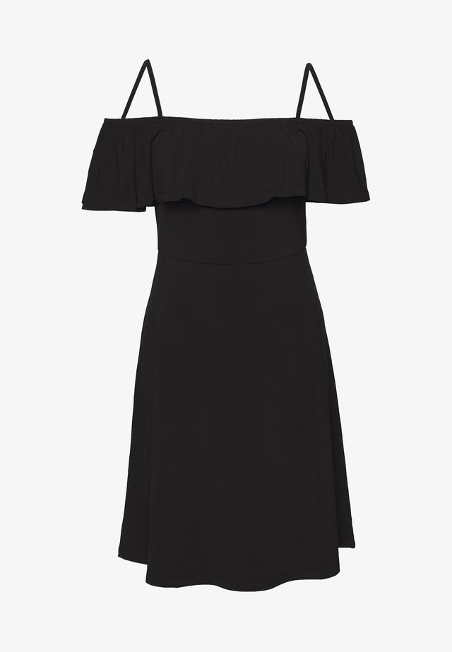 PCARIZONA OFF-SHOULDER  - Day dress - black