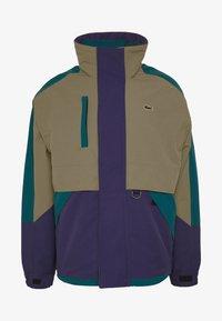 Lacoste LIVE - Light jacket - leafy/tanzanite pine - 4
