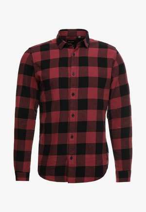 ONSGUDMUND CHECKED - Shirt - maroon