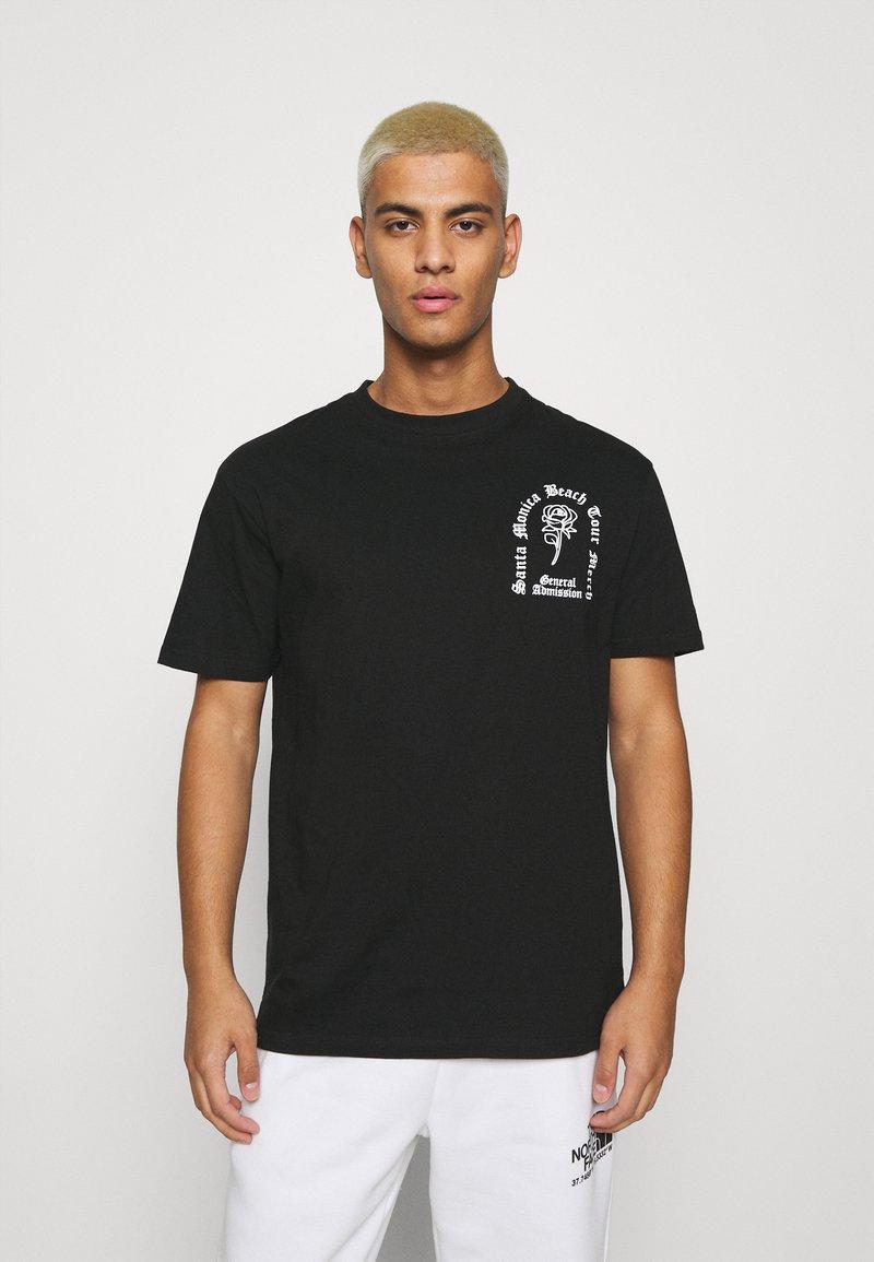 Nominal - ROSE TEE - Printtipaita - black