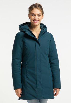 Winter coat - smaragd