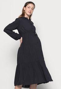 MAMALICIOUS - MLFAUNA DRESS - Košilové šaty - dark navy - 3