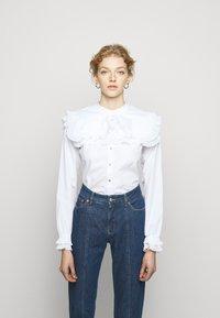 Bruuns Bazaar - POSY EDITOR - Button-down blouse - white - 0